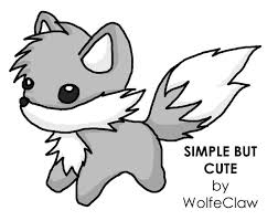 cute simple wolf drawing. Beautiful Wolf But Cute By SWolf On DeviantArt  Tattoos Pinterest Drawings Easy  Drawings And Cute Wolf And Simple Wolf Drawing