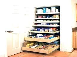 pantry shelf slide out shelves genie cabinet pull kitchen storage built in build floating