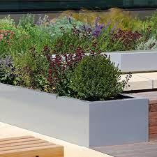 large trough planters