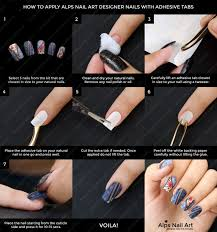 press on nails tutorial