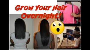 Grow Your Hair Overnight Results You Won T Believe Youtube