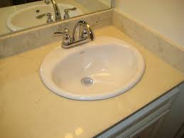 picture of conclusion the new sink is installed and ready for use