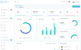 Chart Icon Bootstrap Adminwrap Bootstrap 4 Dashboard Template