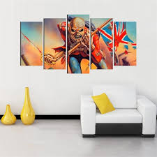 modern canvas oil painting 5 panel wall art pictures for living room funny human uk flag on 5 panel wall art uk with modern canvas oil painting 5 panel wall art pictures for living room