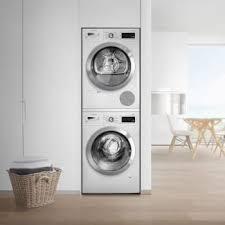 bosch 800 series washer. Bosch 800 Series BOWADREW867 - Stacked Washer W