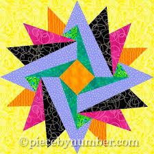Indian Summer Paper Pieced Block | Åitie & Indian Summer Paper Pieced Block Adamdwight.com