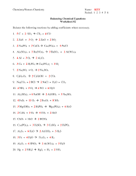 worksheet balancing word equations chapter 8 new collection of chapter 7 worksheet 1 balancing chemical equations