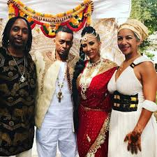 Ka'Ba Soul Singer - Mr. and Mrs. Shah (Professor Griff and Sole) after  their wedding... | Facebook