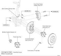 Toyota Sienna Suspension Diagram