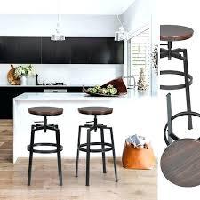 modern bar stool dark blue stools leather hydraulic swivel