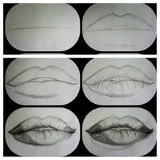 Pin By Haley Lucero On Artwork Lips Drawing Realistic Drawings Draw Realistic Lips