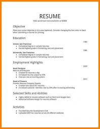 Resume Format For Freshers Free Download In Ms Word Profesional