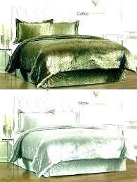 green velvet duvet nz