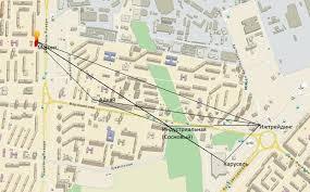 Отчет по преддипломной практике на предприятии ЗАО Тандер в  Рисунок 6 Дислокация местности
