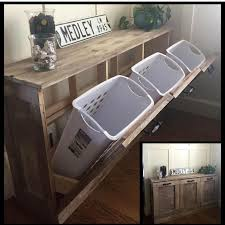 fantastic diy ideas for laundry makeover and organization i need to do this in the landing area outside of my laundry cupboard or in the master bedroom