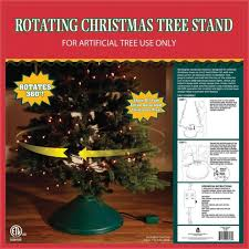 Christmas Tree Stand EZ 360 Deg Rotate Xmas Decoration Home Indoor Holiday Decor