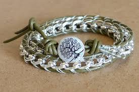 how to make leather wrap bracelet