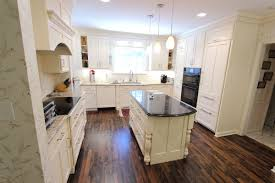 In This Kitchen We Installed Custom Wood Products Colonial Recessed