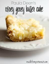 paula deen s ooey gooey er cake a classic