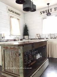interior vintage farmhouse kitchen islands antique bakery counter for farmhouse kitchen island decoration ideas