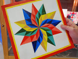 Quilt Patterns For Barn Art Impressive Rural Art Teaches Kids How To Do Geometry WMRA And WEMC