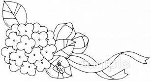 リボン 紫陽花イラストなら小学校幼稚園向け保育園向け自治会