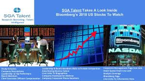SGA Talent Takes A Look Inside Bloomberg's 40 Stocks To Watch Custom Csx Stock Quote