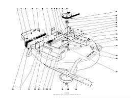 56525 25 whirlwind rider 1972 sn 2000001 2999999 25 mower assembly ⎙ print diagram