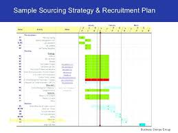 Recruitment Strategy Simple Hr Strategy Template Word Documents Download Free Human Resources