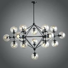best glass ball chandelier modern shape pendant lighting hanging villa cer sh