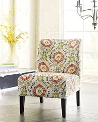 floral living room chairs. amazon.com: honnary curve back fabric accent chair, floral: kitchen \u0026 dining floral living room chairs o