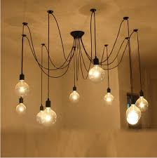 industrial chandeliers edison bulb lighting industrial chandelier