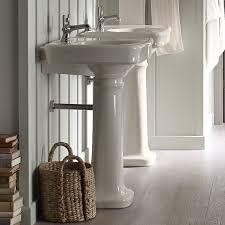 kohler bancroft pedestal sink. Bancroft Ceramic 24 In Kohler Pedestal Sink