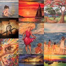 Original Acrylic Canvas Painting by Maggie Trinidad - Community   Facebook