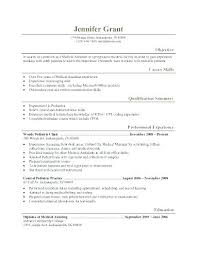 Resume Objective Examples For Medical Assistant Medical Assistant