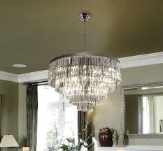 odeon glass fringe rectangular chandelier