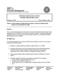 Opm Form 2809 Revised April 2011 Fill Online Printable