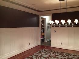 wainscoting ideas dining room after tall craftsman wainscoting diningroom trae taylor