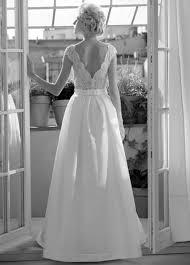 Modell Kelly Mit Satin Skirt 719 Silk Lace Hochzeitskleider