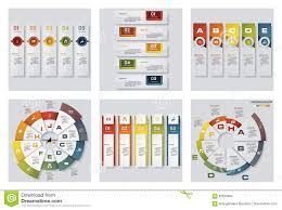 Menu Presentation Design Collection Of 6 Design Colorful Presentation Templates