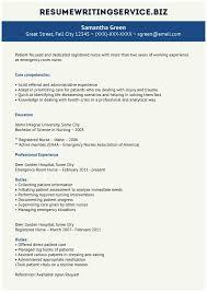 Emergency Room Nurse Resume Template Emergency Nurse Resume Marvelous Sample Travel Nursing