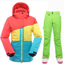 SAENSHING High Quality <b>Ski Suit Women</b> Super Warm Waterproof ...