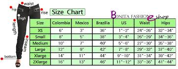 Colombian Jeans Size Chart The Best Style Jeans