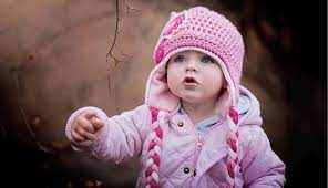 1336x768 Cute Baby in Winter HD Laptop ...