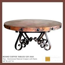 round copper table top round copper coffee table round copper coffee table best of best copper