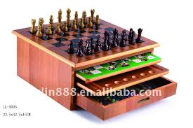 Wooden Game Sets Ten In One Wooden Chess SetOutdoor Chess SetAntique Chess Sets 2