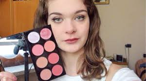 swatch e review ultra blush palette sugar and e makeup revolution elymakeup06 you