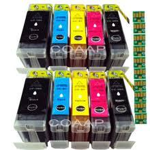 10 совместимых <b>картриджей canon CLI 8</b> PGI 5 для принтеров ...