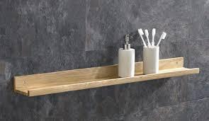450mm long solid oak hand made bathroom