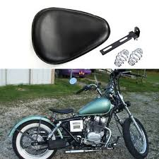 motorcycle leather spring solo seat for